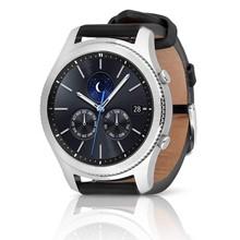 تصویر ساعت هوشمند سامسونگ مدل Gear S3 Classic SM-R770 Black Leather