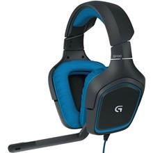 تصویر هدست مخصوص بازی گیمینگ با صدای سورراند لاجیتک مدل G430