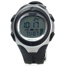 تصویر ساعت مچی دیجیتال دماسنجی اسکمی مدل 1080 ضد آب