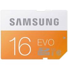 تصویر کارت حافظه SDHC سامسونگ مدل Evo کلاس 10 استاندارد UHS-I U1 سرعت 48MBps ظرفیت 16 گیگابایت