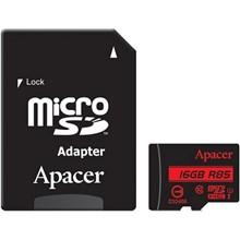 تصویر کارت حافظه اپیسر کلاس 10 استاندارد UHS-I U1 سرعت 85MBps همراه با آداپتور SD ظرفیت 16 گیگابایت