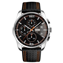 تصویر ساعت مچی عقربه ای مردانه اسکمی مدل 9106 کد 02