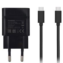 تصویر شارژر دیواری هوآوی مدل HW-050300E00 همراه با کابل USB C