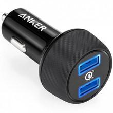 تصویر شارژر فندکی انکر مدل A2228 PowerDrive Speed 2