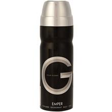 تصویر اسپری مردانه امپر مدل G حجم 200 میلی لیتر