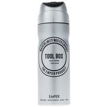 تصویر اسپری مردانه امپر مدل Tool Box حجم 200 میلی لیتر