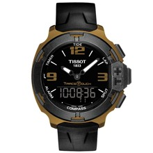 تصویر ساعت مچی عقربه ای مردانه تیسوت مدل T-Race Touch T081.420.97.057.06