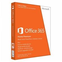 تصویر مایکروسافت آفیس 365 نسخه Home، یکسال، پنج کاربر