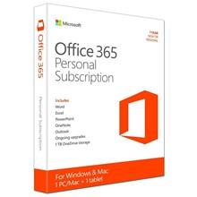 تصویر مایکروسافت آفیس 365 نسخه Personal، یکسال، یک کاربر