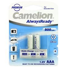 تصویر باتری نیم قلم قابل شارژ کملیون Always Ready Max-800mAh