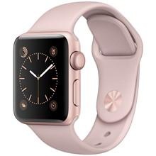 تصویر ساعت هوشمند اپل واچ مدل 42mm Rose Gold Case with Pink Sand Band