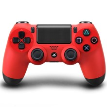 تصویر دسته بازي سوني  مدل  DualShock 4 Red