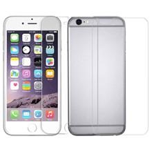 تصویر محافظ صفحه نمایش و پشت شیشه ای تمپرد مناسب برای گوشی موبایل اپل آیفون 6 پلاس
