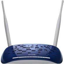 تصویر مودم روتر +ADSL2 بي سيم N300 تي پي-لينک مدل TD-W8960N